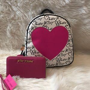 Betsy Johnson Mini Backpack